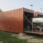 univerzalna kontejnerska sušara prijenosna termogenerator